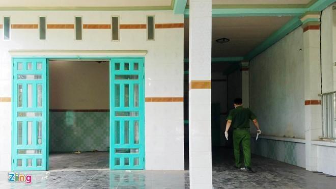 Vu xac nguoi trong be tong o Binh Duong: Nan nhan nhay lau bo tron? hinh anh 1