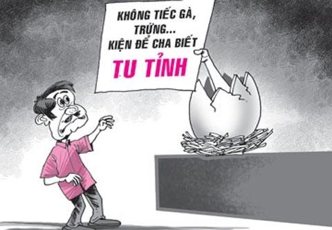Vo doi chong tien... hao mon than the hinh anh