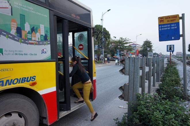 Bến buýt xã Quất Động, Thường Tín.