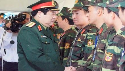 Dai tuong Phung Quang Thanh tro lai lam viec tu dau tuan toi hinh anh