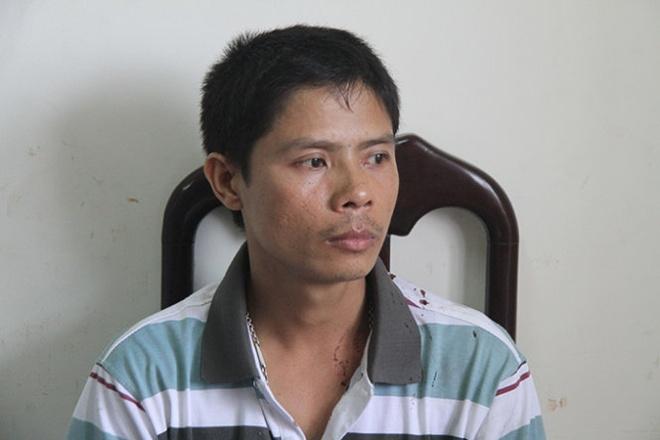 Em dam chet chu no cua anh hinh anh 1 Đặng Văn Hoàng tại Công an TP Nha Trang.