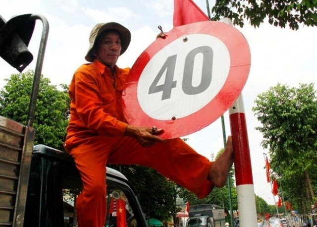 Da do bo tat ca bien han che toc do duoi 50 km/h hinh anh
