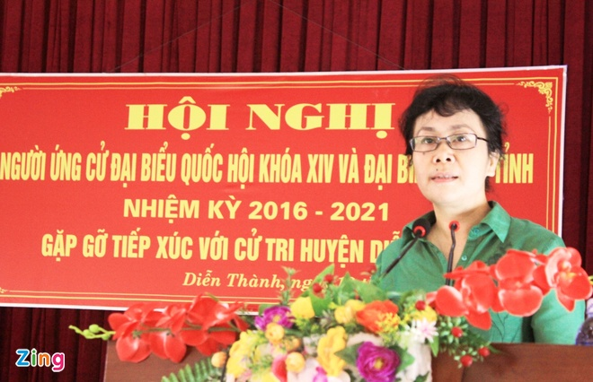 Vo chong Pho thu tuong Vuong Dinh Hue trung cu dai bieu QH hinh anh 1