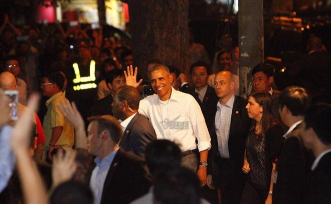 Chuyen bao ve an ninh cho ong Obama o quan bun cha hinh anh 2