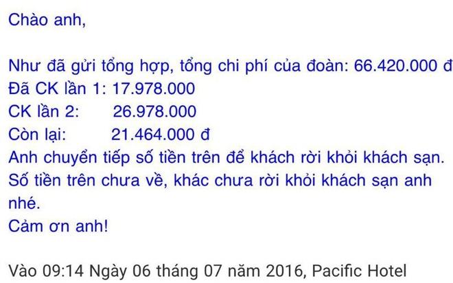 Khong chap nhan viec khach san 'giam' xe cua du khach hinh anh 3