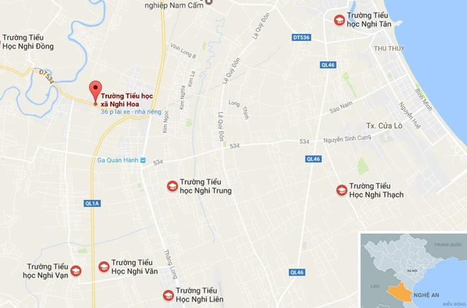 Nghi van co giao danh hoc sinh anh 2