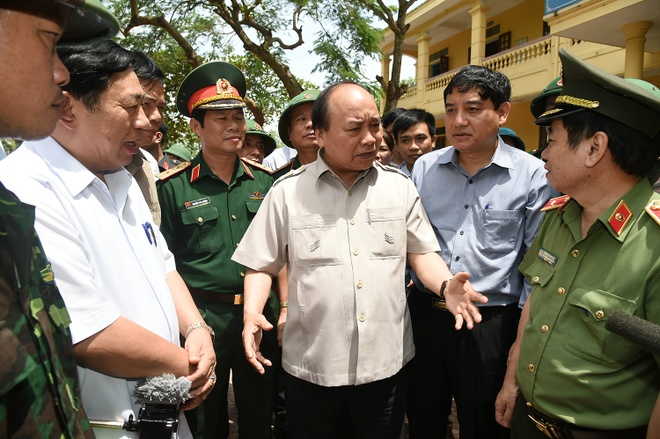 Thu tuong: Nghe An phai huy dong luc luong khac phuc bao so 10 hinh anh 1