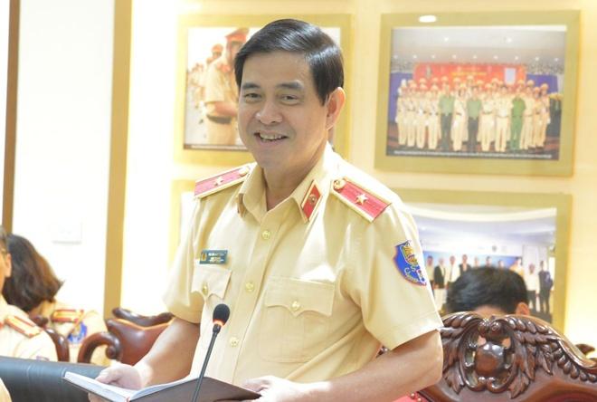 Thieu tuong Vu Do Anh Dung lam Cuc truong Cuc CSGT hinh anh