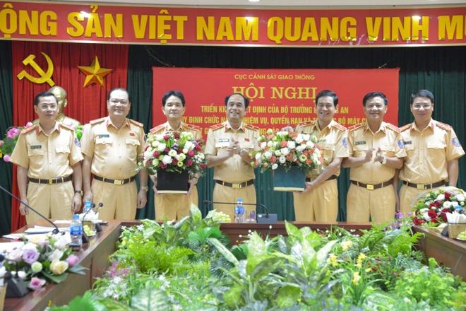 Thieu tuong Vu Do Anh Dung lam Cuc truong Cuc CSGT hinh anh 1