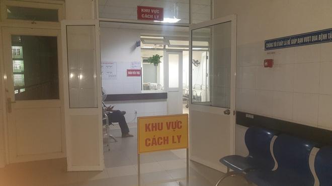 Tại Bệnh viện Đà Nẵng đã bố trí khu vực cách ly, sẵn sàng điều trị cho bệnh nhân.
