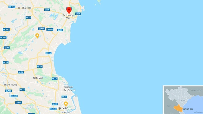 Xe container dam sap nha dan, tai xe mac ket trong cabin hinh anh 3 map_nghean_tainan3.JPG