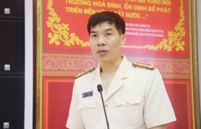 Bo nhiem Giam doc Cong an tinh Yen Bai anh 2