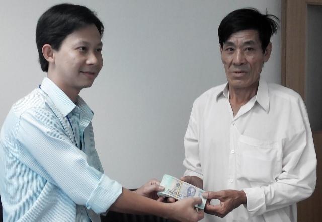 Vu an mi trung thuong 100 trieu: Cong ty tra 50 trieu dong hinh anh 1 Khách hàng Ẩn nhận được số tiền 57 triệu đồng.