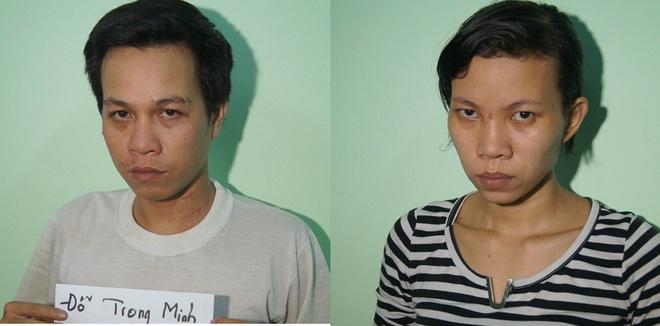 Khoi to nguoi me va tinh nhan hanh ha da man con gai hinh anh 1 Hai nghi can Trang và Minh bị khởi tố về hành vi Cố ý gây thương tích.