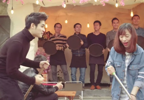 9 ca khuc xuan ron rang trong MV cua nghe si Ha Noi hinh anh