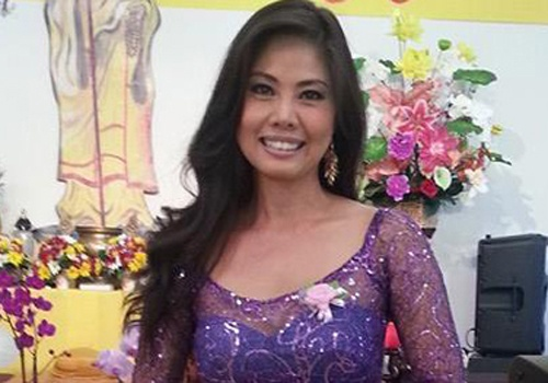 Ho Le Thu len tieng vu an chan tien cua nguoi khuyet tat hinh anh