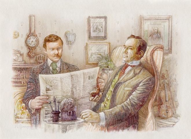10 mau truyen 'Sherlock Holmes' ung y nhat cua Conan Doyle hinh anh
