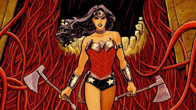 Wonder Woman tranh cai ve hon nhan dong gioi voi Superman hinh anh
