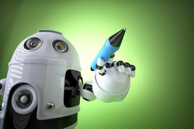Robot se thay con nguoi viet sach? hinh anh