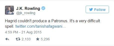 JK Rowling gioi thieu ve than ho menh trong 'Harry Potter' hinh anh 1