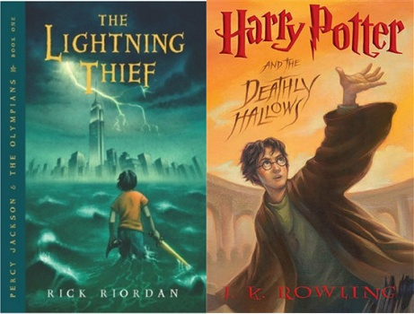 Diem giong va khac nhau giua Harry Potter va Percy Jackson hinh anh