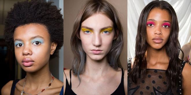 Phong cach trang diem an tuong o New York Fashion Week hinh anh 3