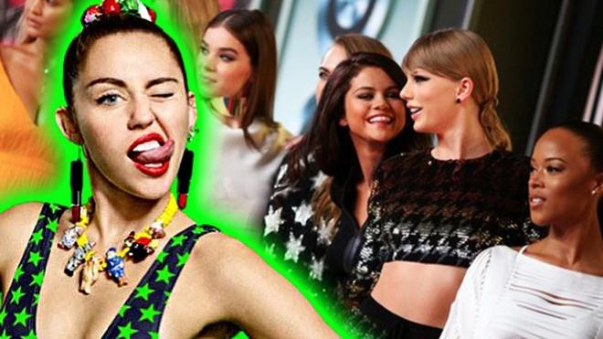 Taylor Swift len ke hoach tra thu sau khi Miley Cyrus da xeo hinh anh