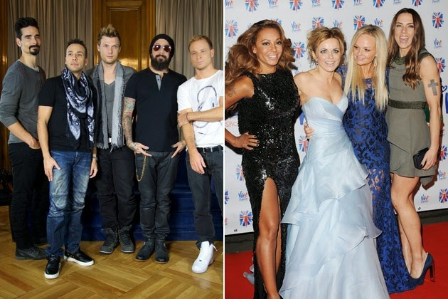 Backstreet Boys va Spice Girls thuc hien tour dien cuoi cung hinh anh