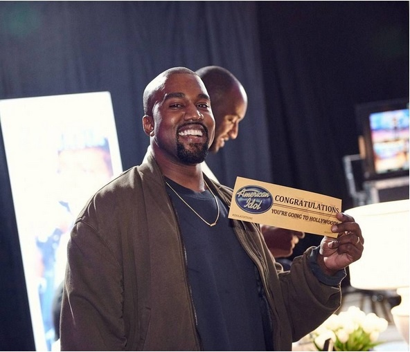 Kanye West tham gia vong thu giong American Idol mua cuoi hinh anh 1