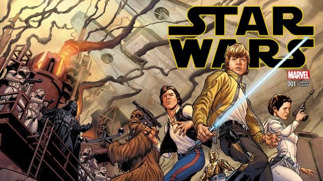 Loat truyen moi trong serie 'Star Wars' sap ra mat hinh anh