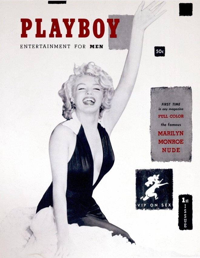 Marilyn Monroe tro thanh bieu tuong man anh tu... Playboy hinh anh 2