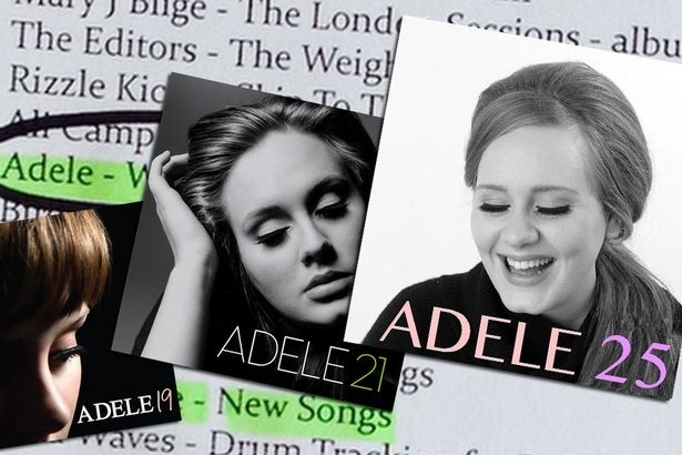Adele he lo ve 11 ca khuc trong album '25' sap ra mat hinh anh