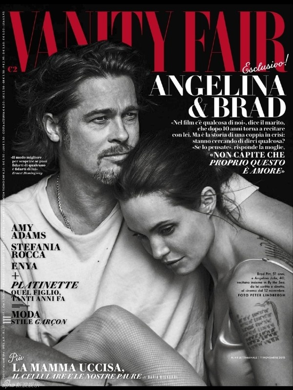 Brad Pitt va Angelina Jolie ngot ngao tren bia tap chi hinh anh 1