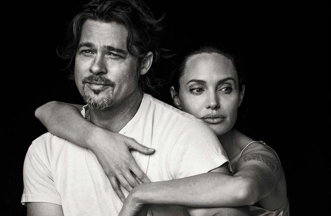 Brad Pitt va Angelina Jolie ngot ngao tren bia tap chi hinh anh