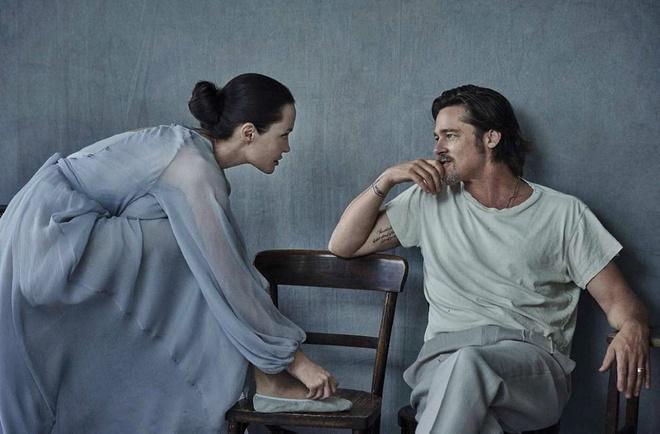 Brad Pitt va Angelina Jolie ngot ngao tren bia tap chi hinh anh 4