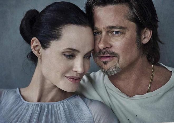 Brad Pitt va Angelina Jolie ngot ngao tren bia tap chi hinh anh 6