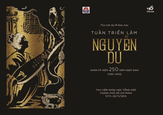 Gia dinh thi hao Nguyen Du gop tu lieu trien lam tai TP HCM hinh anh 1