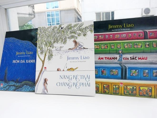 Jimmy Liao - Nguoi ke chuyen tai tinh bang hoi hoa hinh anh