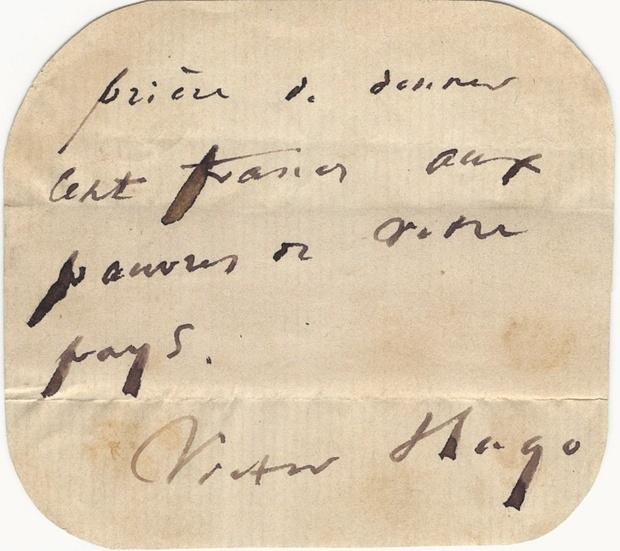 But tich cua nha van Victor Hugo duoc chao ban hinh anh 2