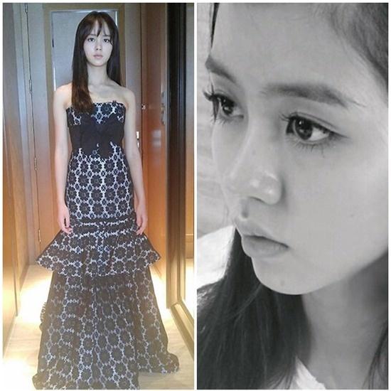 Di tim nhan sac khong son phan cua kieu nu Han hinh anh 7 Mặt mộc của Kim So Hyun đẹp chẳng kém những lúc trang điểm.