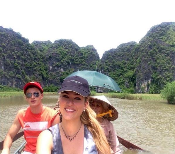 Hoa hau The gioi 2015 tung sang Viet Nam du lich hinh anh 7