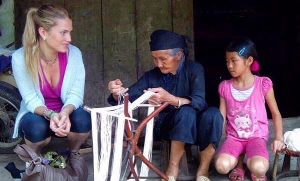 Hoa hau The gioi 2015 tung sang Viet Nam du lich hinh anh
