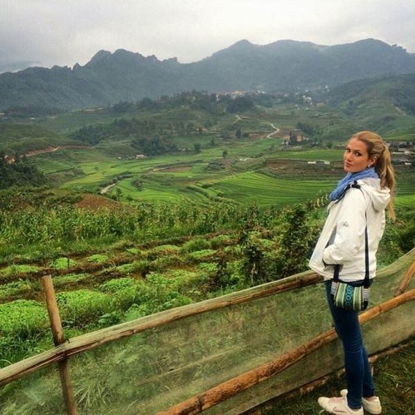 Hoa hau The gioi 2015 tung sang Viet Nam du lich hinh anh 3