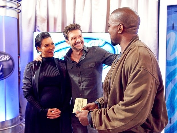 Kanye West gianh ve vang American Idol mua cuoi hinh anh 1