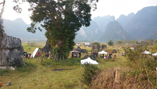 'Dot nhap' phim truong King Kong tai Quang Binh hinh anh 2