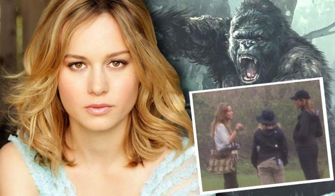 Brie Larson tren phim truong 'Kong Skull island' Quang Binh hinh anh