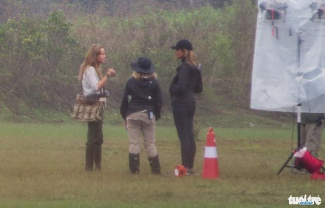 Brie Larson tren phim truong 'Kong Skull island' Quang Binh hinh anh 4