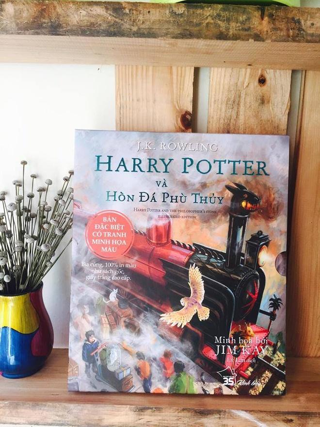 Hinh anh cuon hut cua 'Harry Potter' phien ban minh hoa hinh anh 1