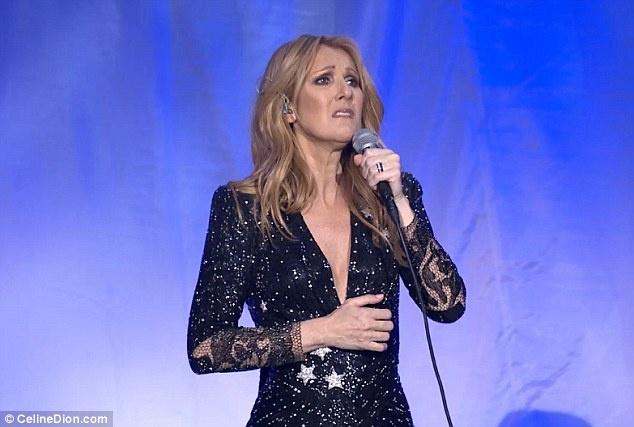 Celine Dion oa khoc tren san khau Las Vegas khi hat ve chong hinh anh 3