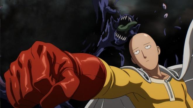 Anime 'One-Punch Man' duoc danh gia cao hon ca truyen tranh hinh anh 1